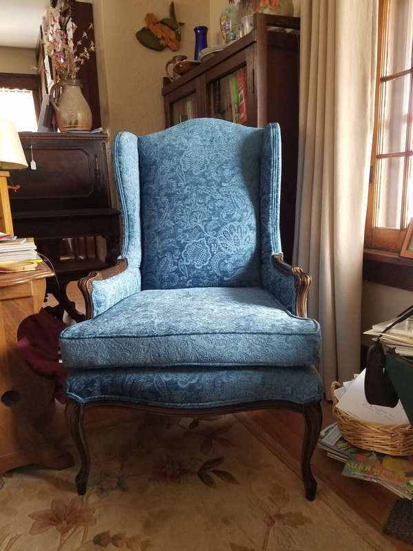 Home, antiques, patio, dining, leather, cushion, foam upholstery @seamsupholsteryllc