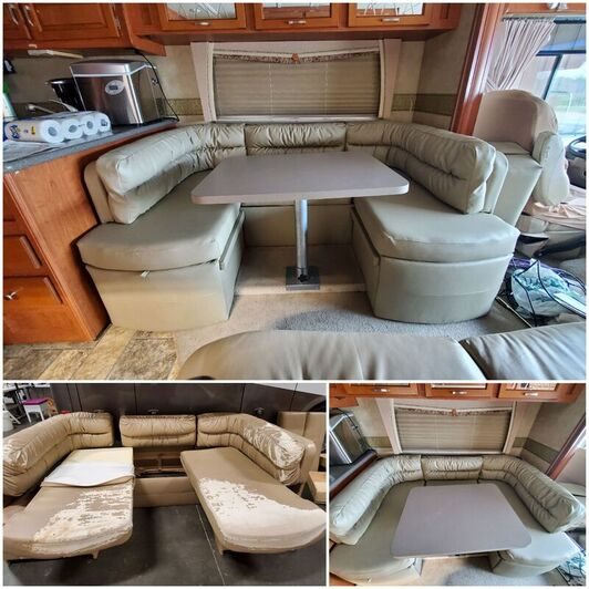 Recreational Vehicle, RV, Upholstery @seamsupholsteryllc